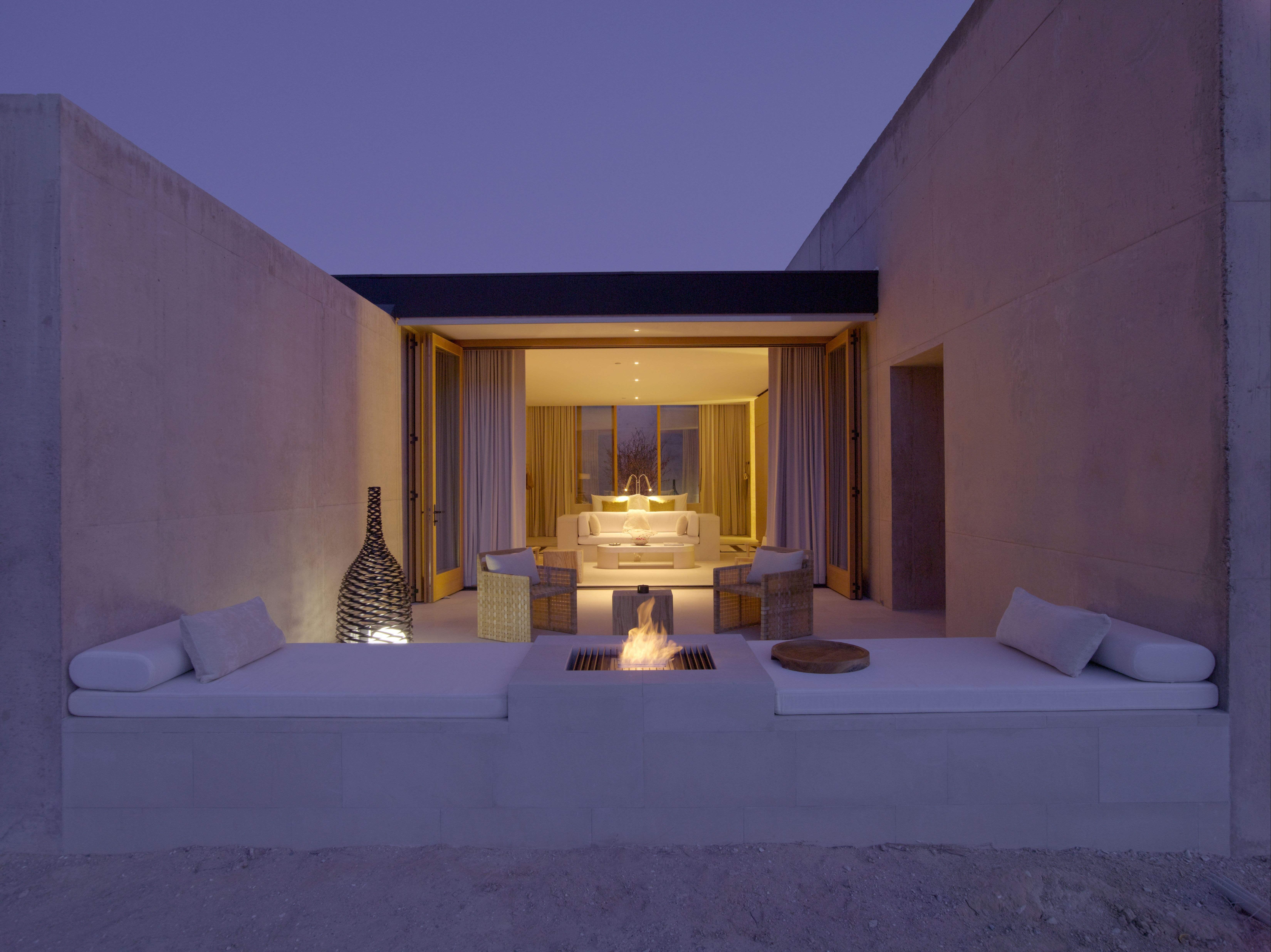 Amangiri_Girijaala Suite Desert Lounge 1
