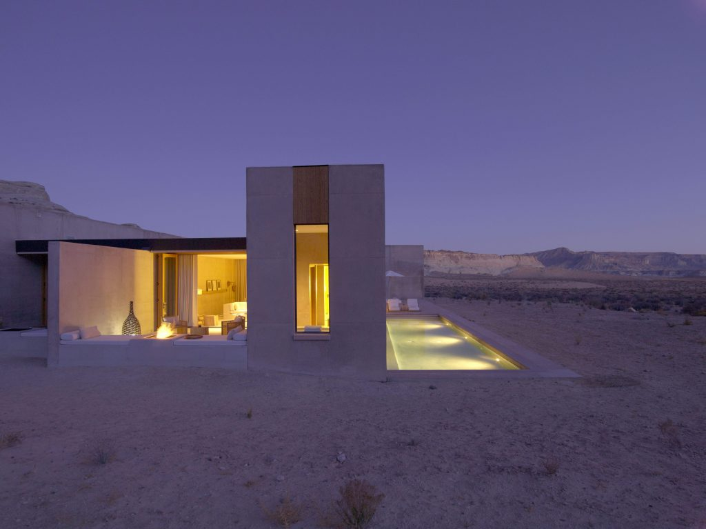 Amangiri_Girijaala Suite Exterior Night